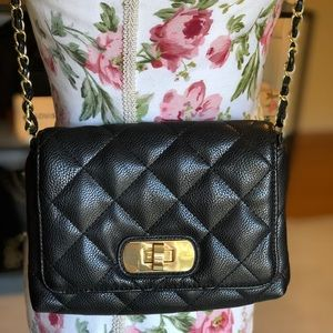 Banana Republic Quilted Crossbody